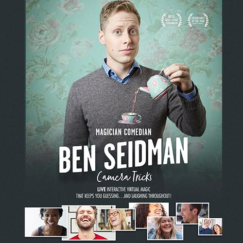 Ben Seidman, Camera Tricks Live Interactive Virtual Magic
