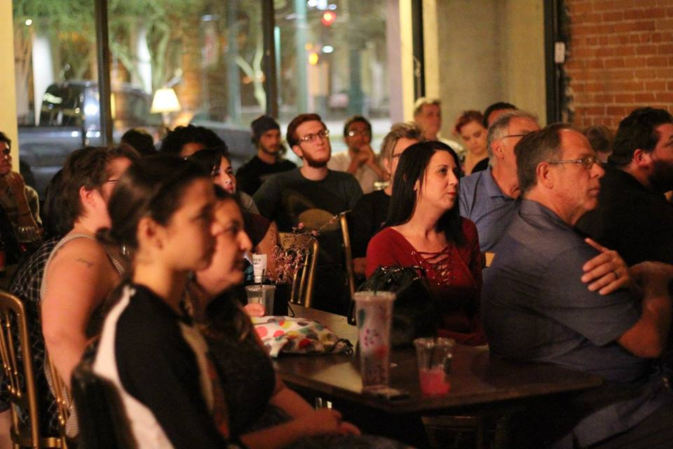 Community Gathers for an Inspiring Evening of Open-Mic Night