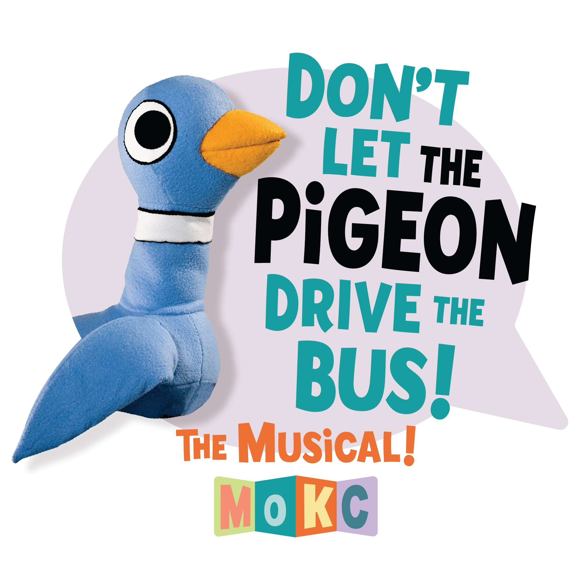 Don't Let the Pigeon Drive the Bus! Show Logo