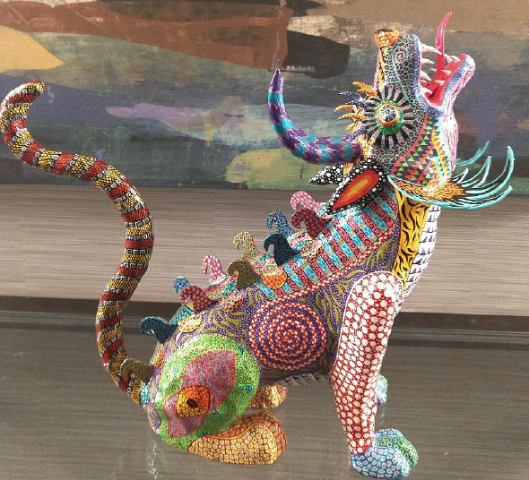 Make your own magical creature (alebrije) at this year's Dia de los Muertos Festival