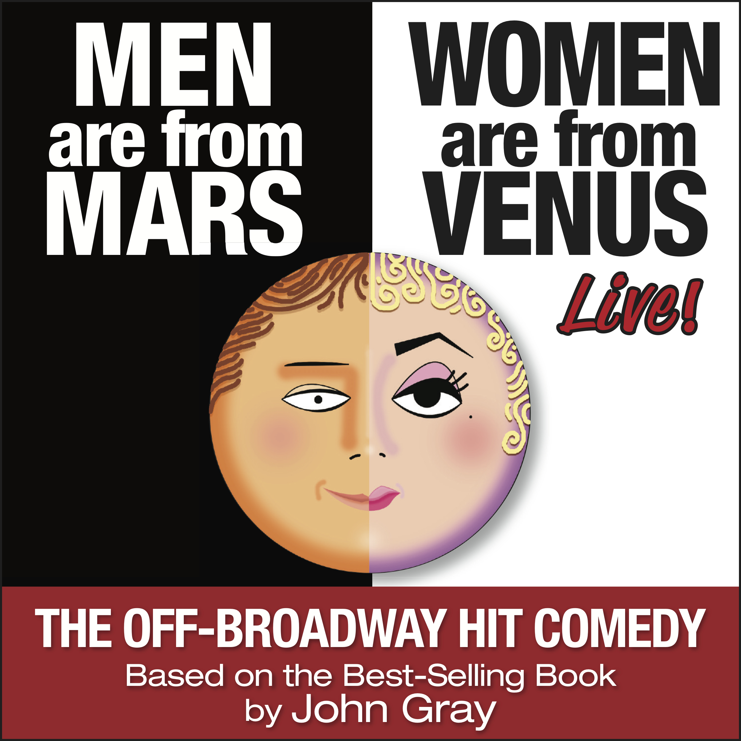 Men are from mars women are from venu